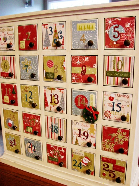 Build Wooden Diy Wood Advent Calendar Plans Download Diy