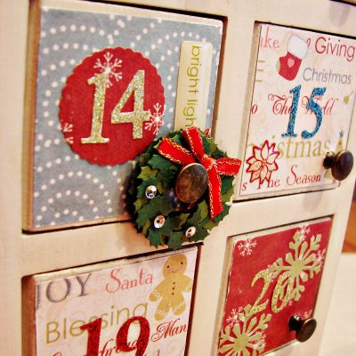 Spruce up your own Advent calendar