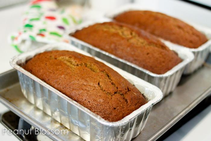 Fall baking: Best ever Pumpkin Bread