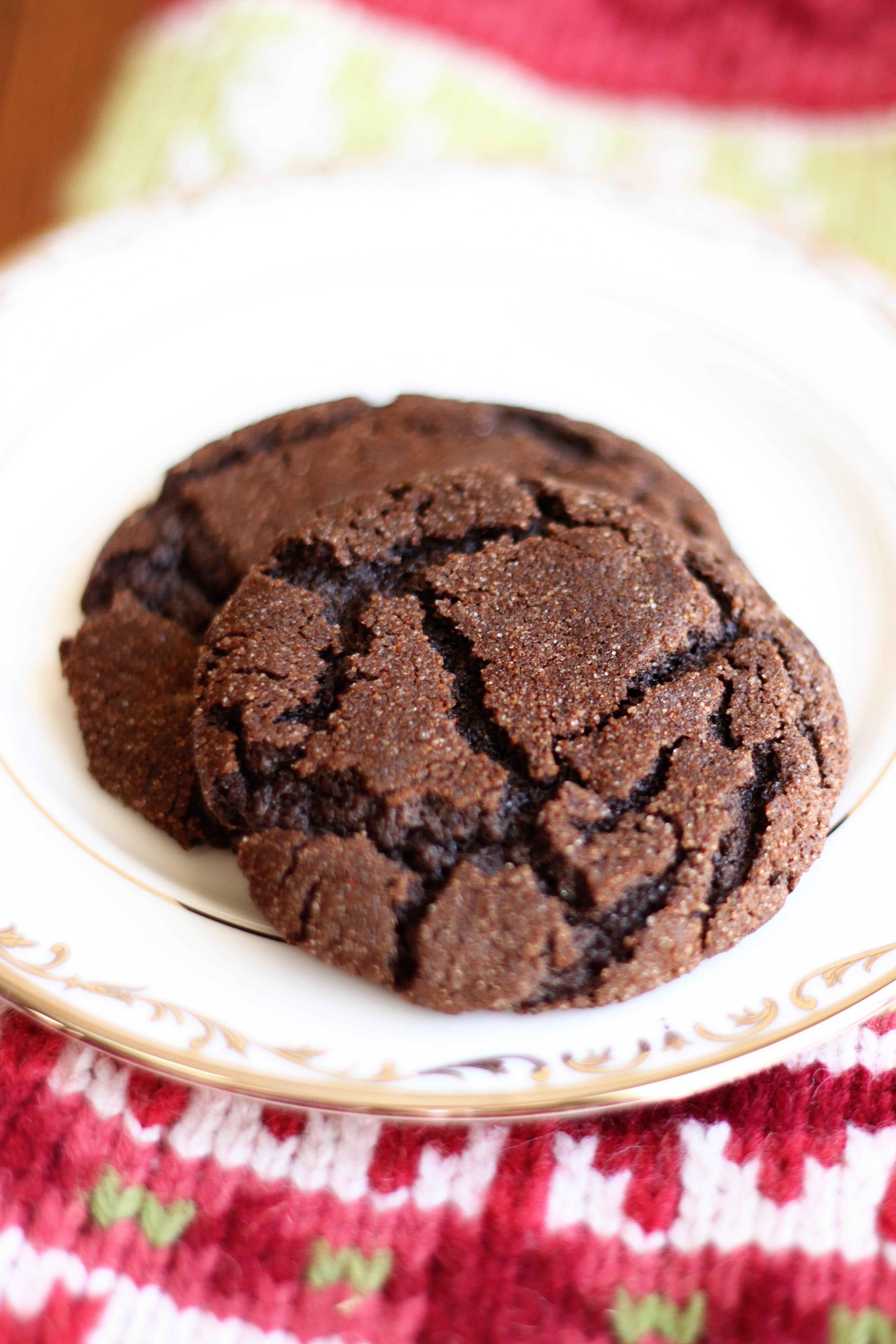 Mexican Hot Chocolate Cookies - Peanut Blossom