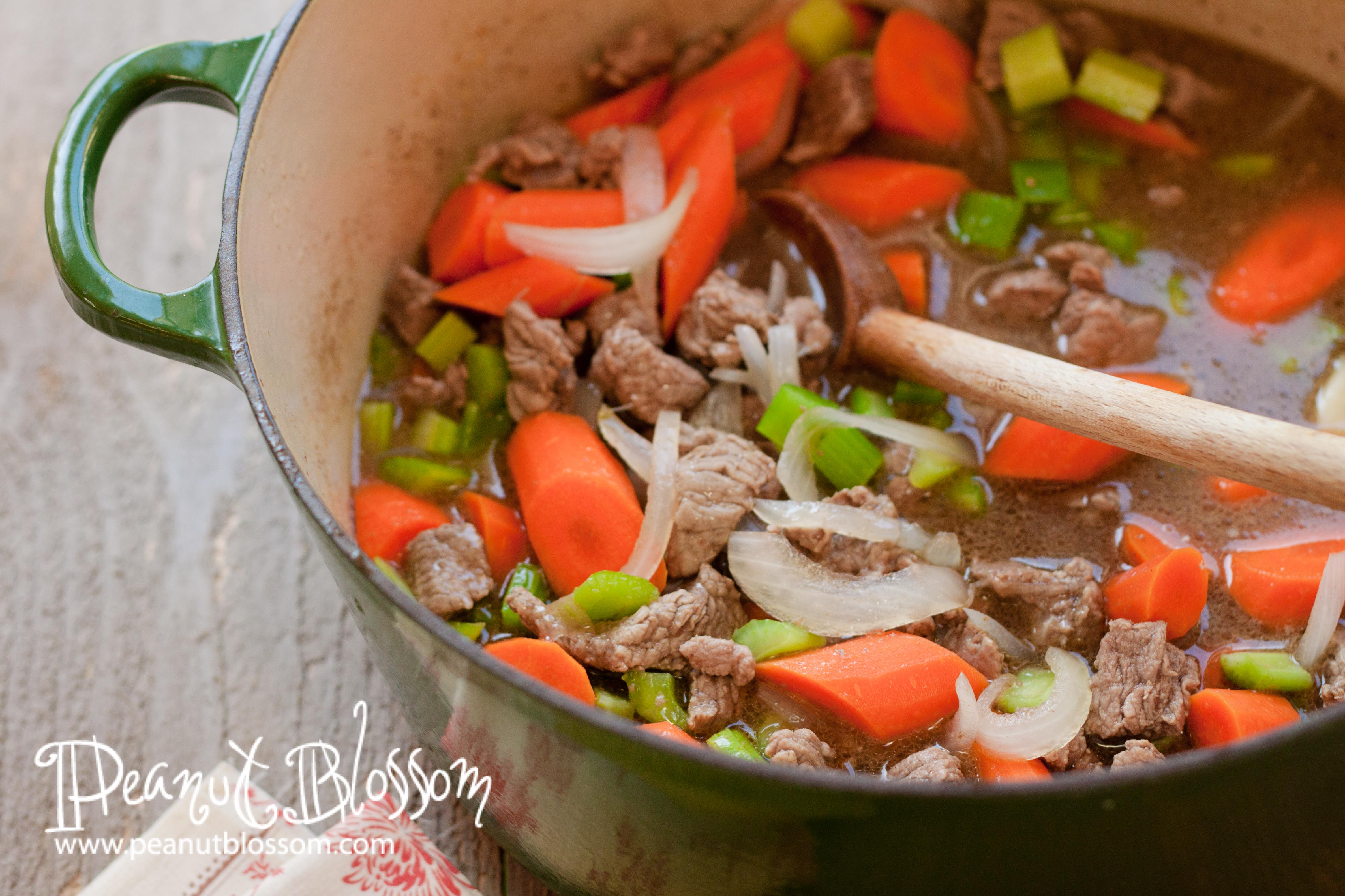 how to cook beef stew with potatoes