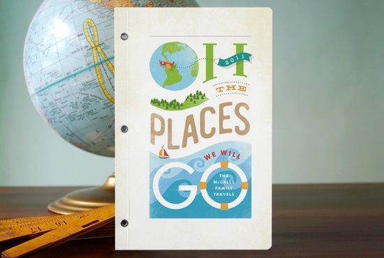 Oh the Places We Will Go: the cutest personalized travel journals for kids