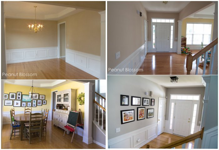 Dining room and entryway transformation | Peanut Blossom