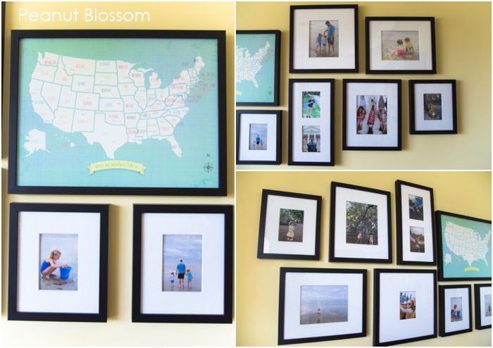 Change of Art gallery frames | Peanut Blossom