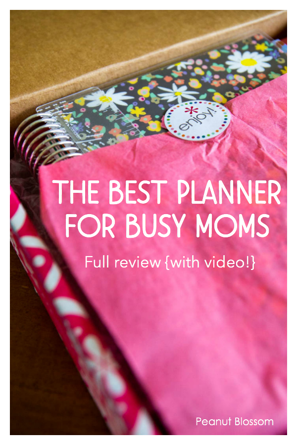 Are Erin Condren planners the best for busy moms? Full review with video.