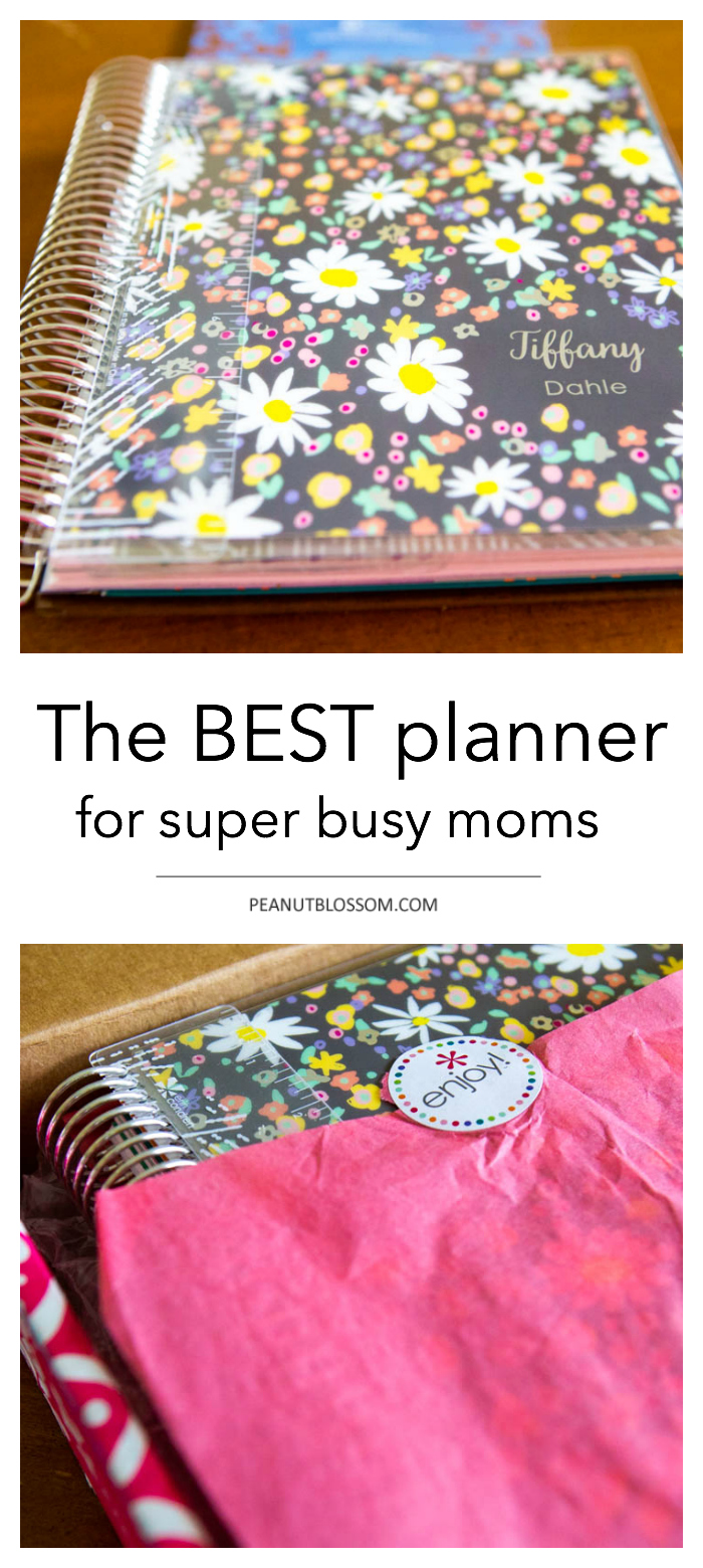 The best planner for moms: Erin Condren life planner
