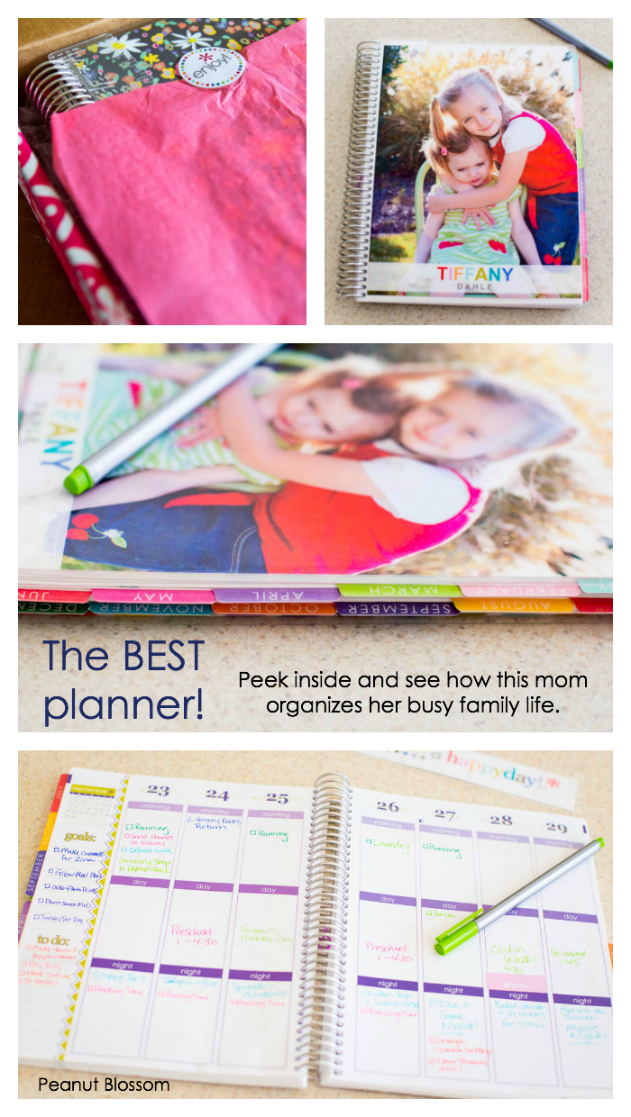 A peek inside the popular Erin Condren planner.