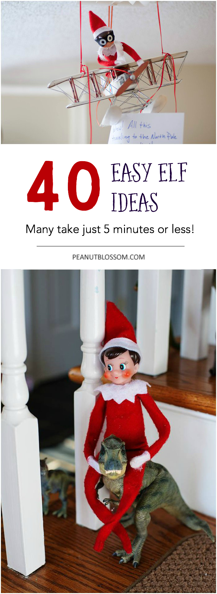 40 easy elf on the shelf ideas