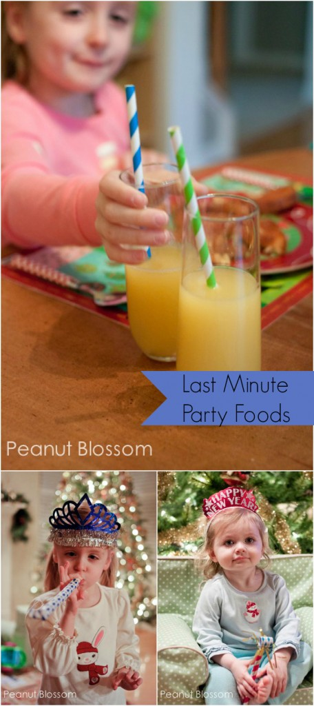 New Year's Eve meal planning ideas | Peanut Blossom