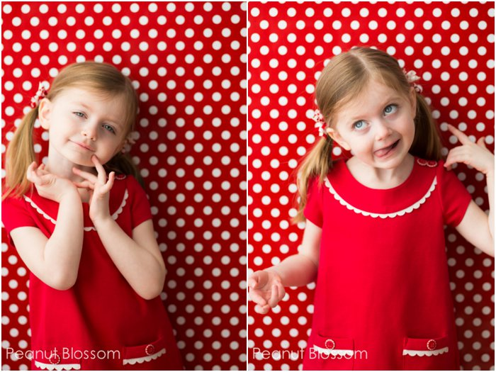 Simple posing tips for kids | Peanut Blossom