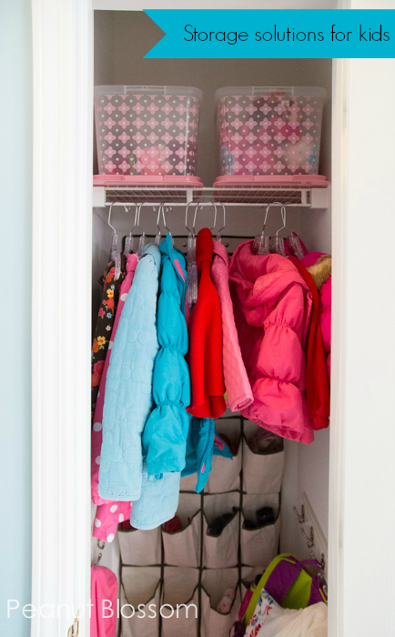 Storage tips for a Kid Central Hub | Peanut Blossom