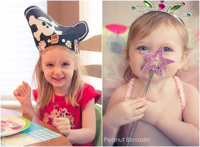 A pirate & a fairy: keeping them both happy | Peanut Blossom
