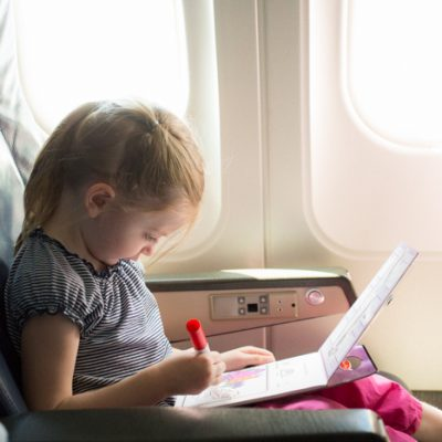 4 tips for flying with kids