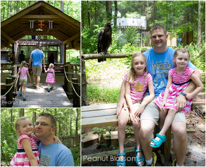 A day at the Carolina Raptor Center in Charlotte, NC
