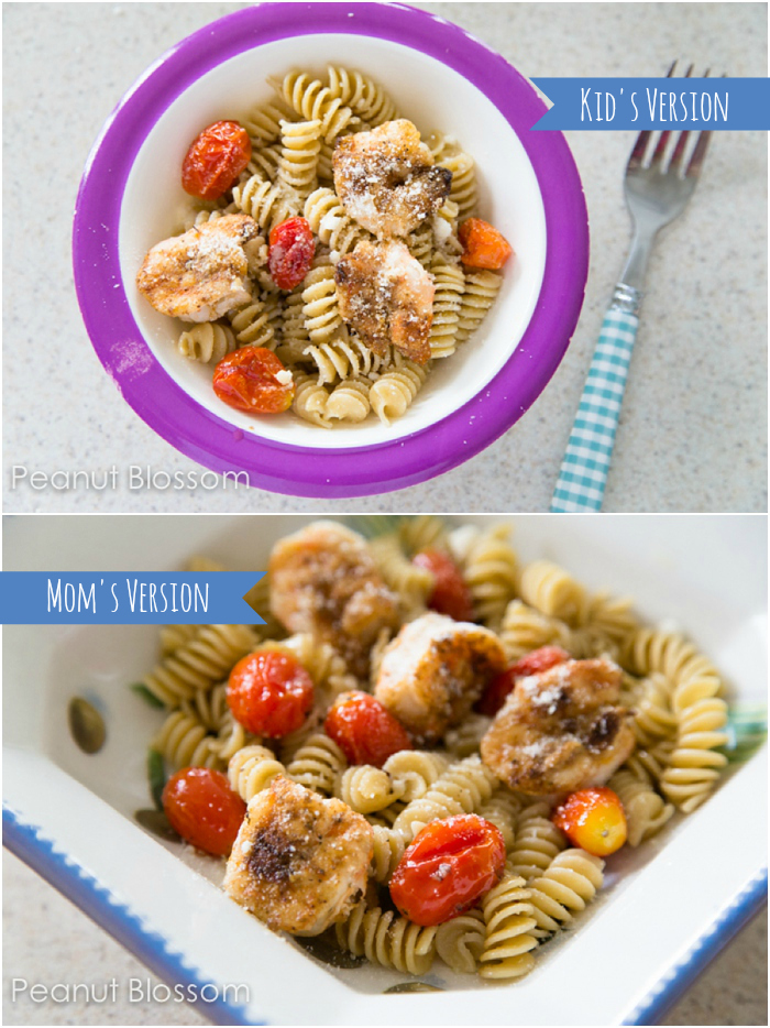 Night 3 of Dinner Playbook Challenge: Pasta with roasted tomatoes | Peanut Blossom