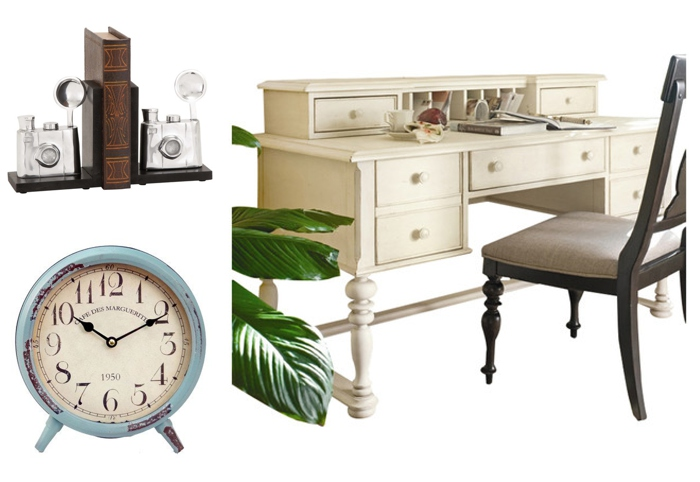 Work desk for a master bedroom | Peanut Blossom
