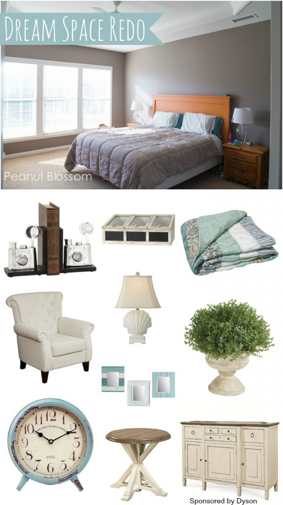 Dream Space Redo: Turning a cluttered master bedroom into a relaxing retreat.