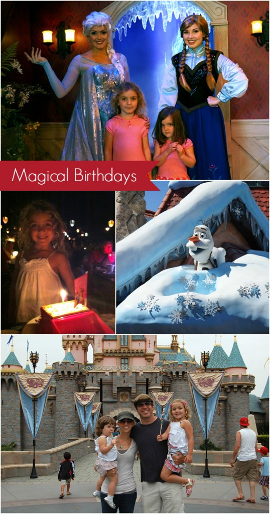 Fantastic tips on celebrating a birthday at Disneyland, includes great hotel suggestions and dining ideas! | Peanut Blossom