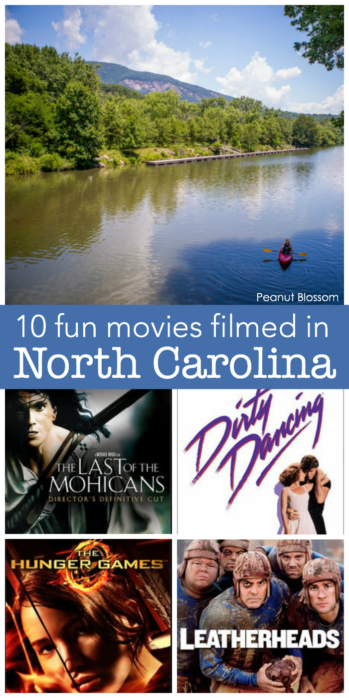 10 fun movies filmed in North Carolina, perfect for anyone who just moved to Charlotte to watch for a date night in.