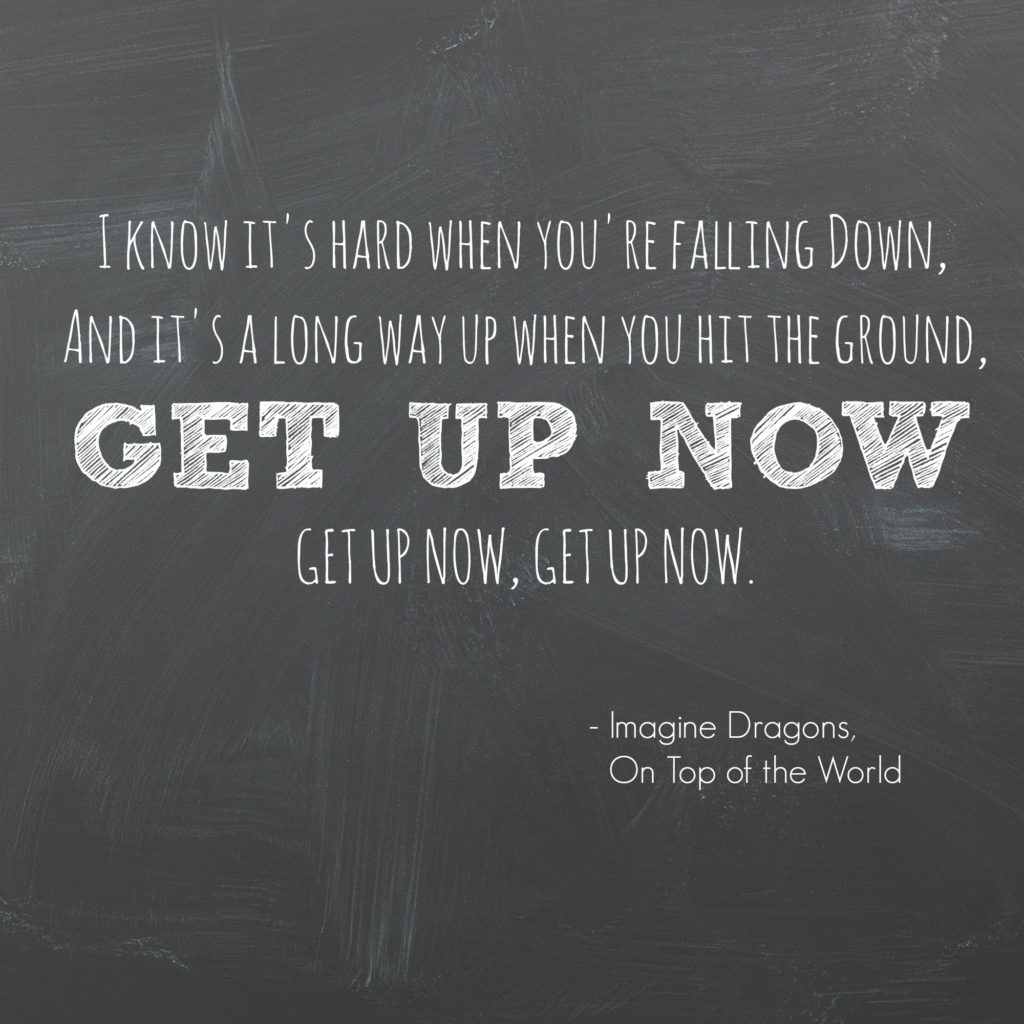 Get up now!