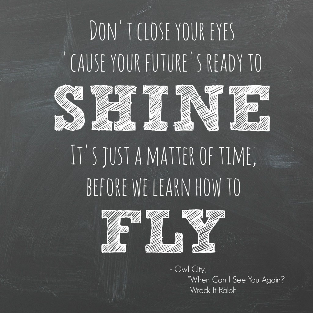 Your future is ready to shine