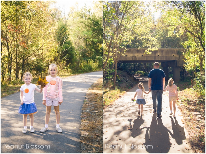 Impromptu Fall Fun: Take a simple leaf walk with your kids!