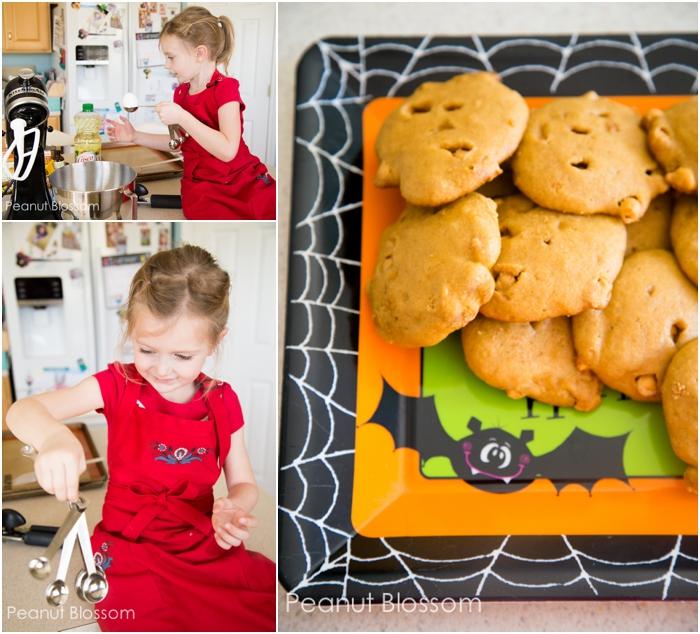 Insanely easy pumpkin butterscotch cookies