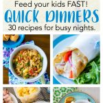 30 quick dinner ideas for your busiest Soccer Nights