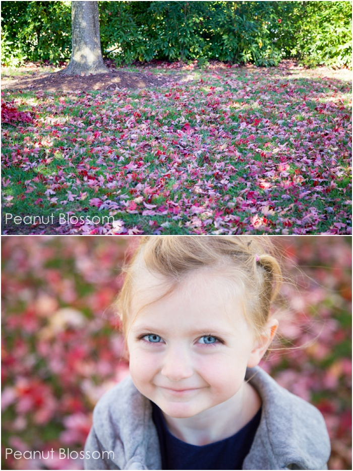 Choosing a backdrop when capturing children's portraits
