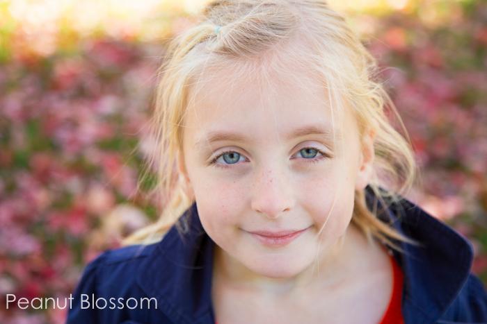 Choosing a backdrop when capturing children's portraits