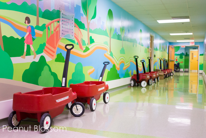 St. Jude Children's Hospital, a tour