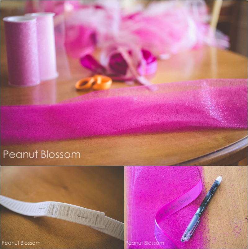 Easy tutorial: how to make a tutu for a running costume or for a children's Halloween costume.