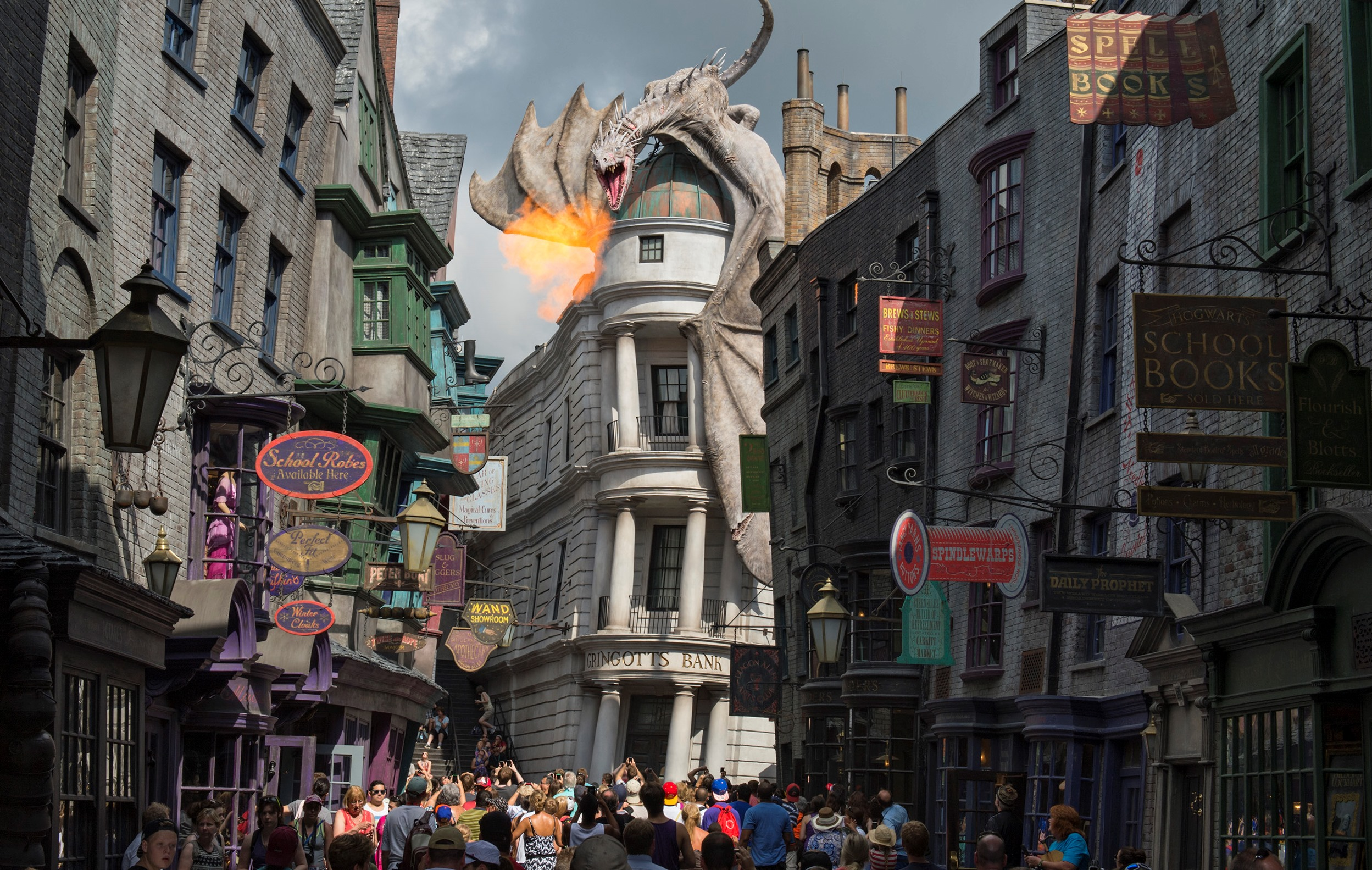 one day itinerary for visiting harry potter at universal studios