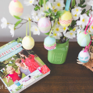 How to make an Easter egg tree