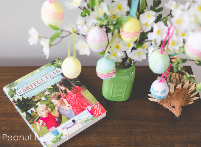 How to make an Easter egg tree: So easy the kids can help!