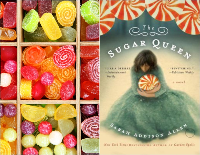 "Book club discussion of ""The Sugar Queen"" by Sarah Addison Allen"
