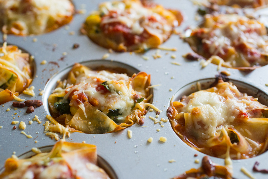 Garden lasagna pots: great recipe to cook with your kids