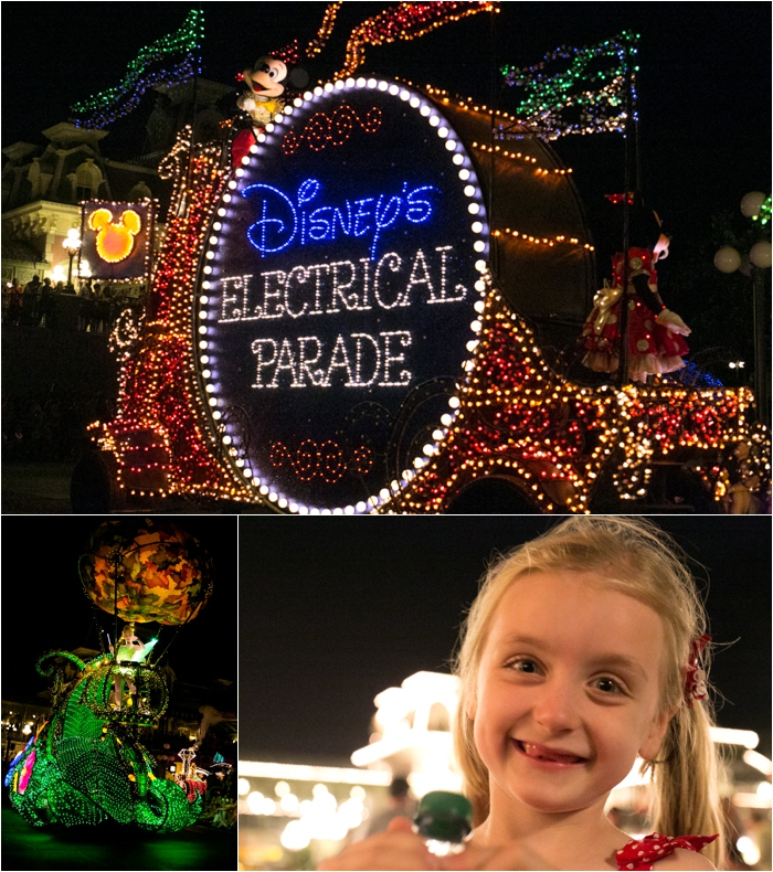 Disney electric parade tips