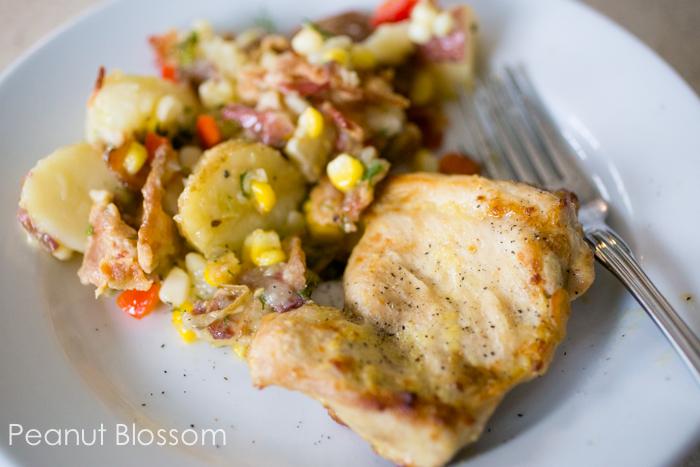 Lemon garlic dijon marinade for chicken