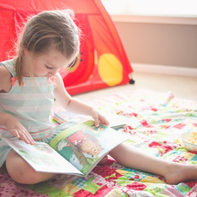 Indoor adventures: picture books about camping