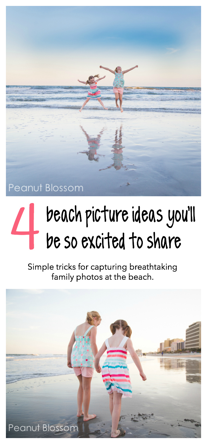 4 beach picture ideas you'll be so excited to share when you get home