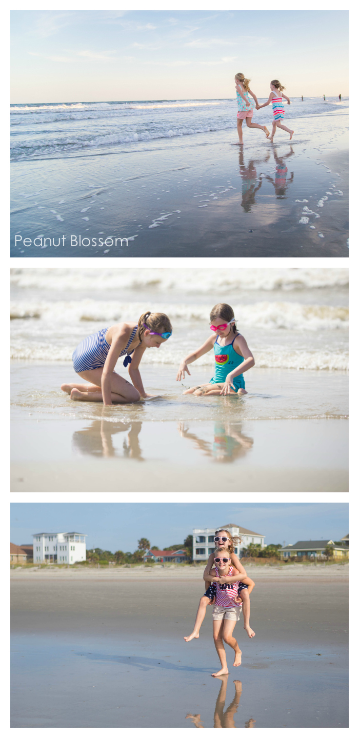 Beach picture ideas, Tip #2: capture the action