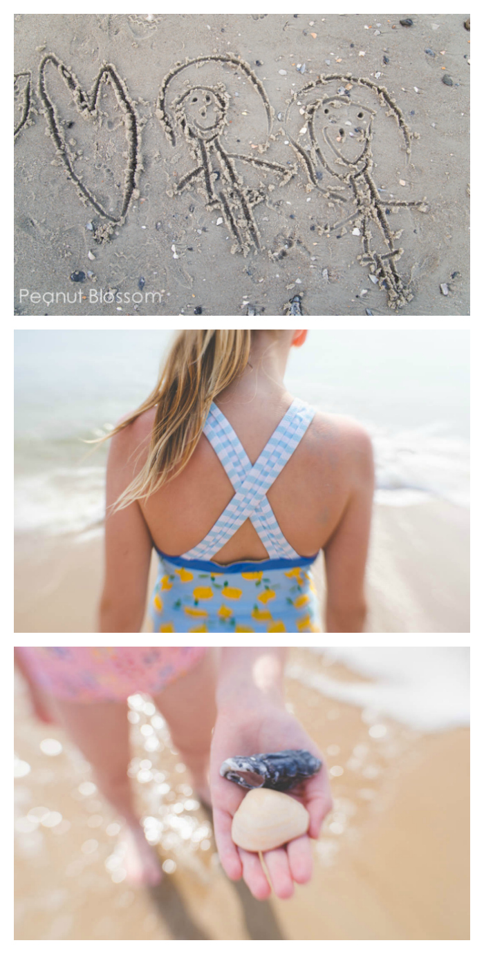 Beach picture ideas, tip #5: Get the close-up detail shots