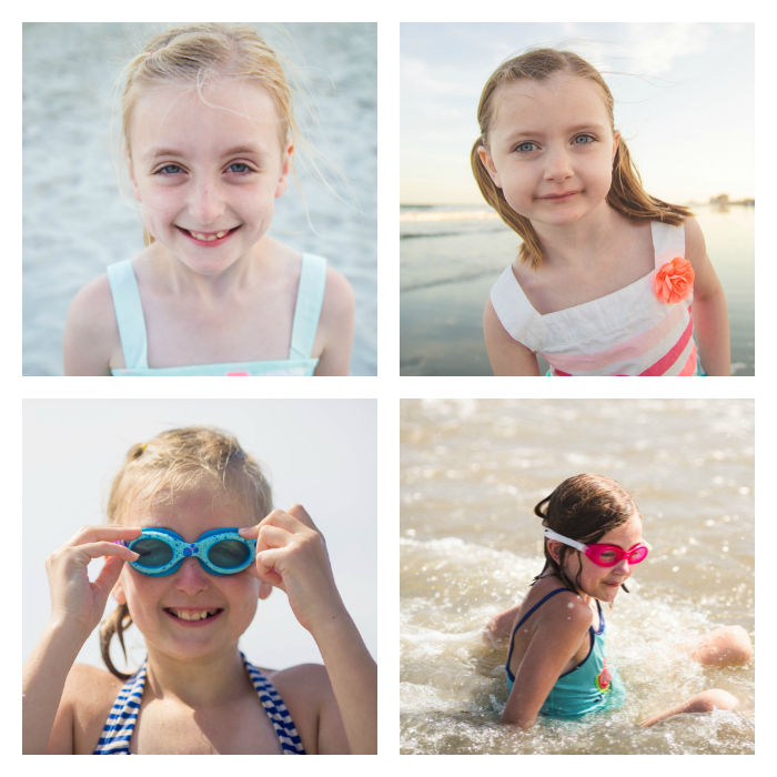Beach picture ideas tip #4: Capture individual photos of your kids