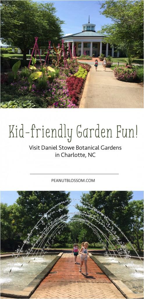 Daniel Stowe Botanical Garden in Charlotte NC