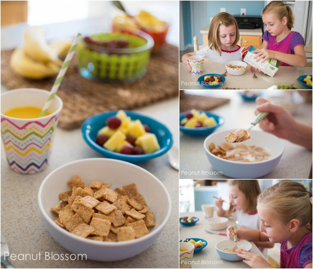 Back to school breakfast and photo tips