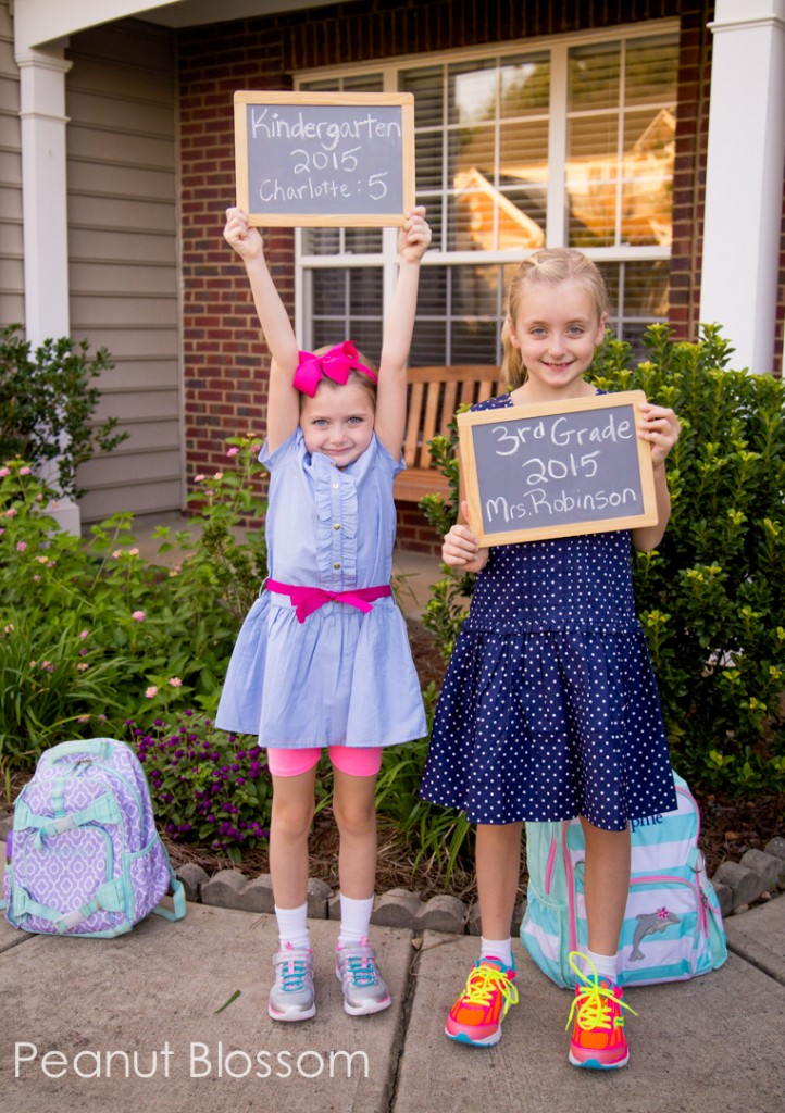 Back to School photo ideas for busy mornings.