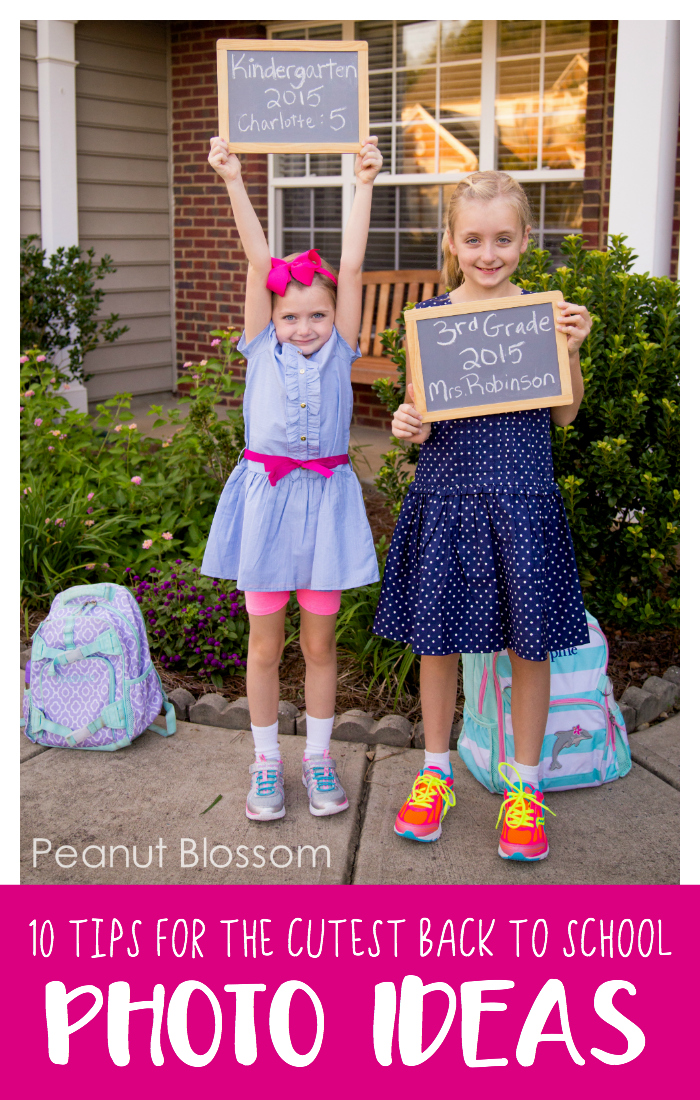 10 tips for capturing the cutest back to school photo ideas ever