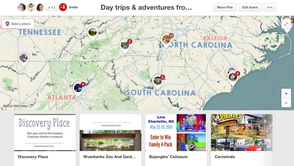 Using internet tools to plan a family vacation