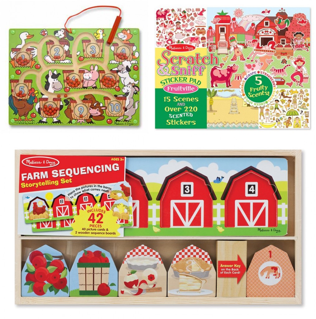 Apple themed toys from Melissa & Doug
